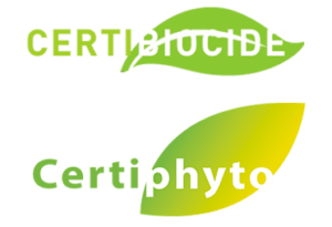 Certifications CertiBiocide & Certiphyto